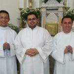 Três seminaristas serão ordenados diáconos no próximo dia 15 de dezembro