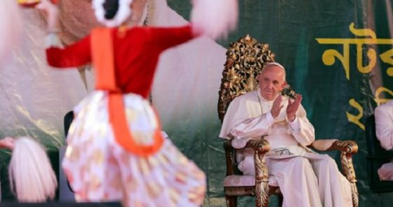 Encontro com os jovens concluiu viagem do Papa a Bangladesh