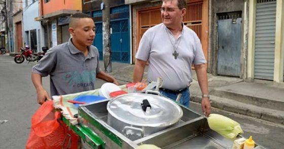 Bispo fala da realidade dos trabalhadores no Brasil para campanha da Adveniat
