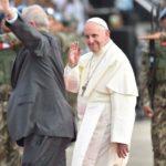 Papa Francisco chegou ao Peru