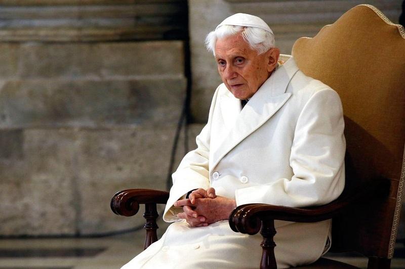 Papa Bento XVI está bem de saúde