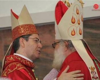 Dom Maurício deu posse ao novo bispo de Bauru