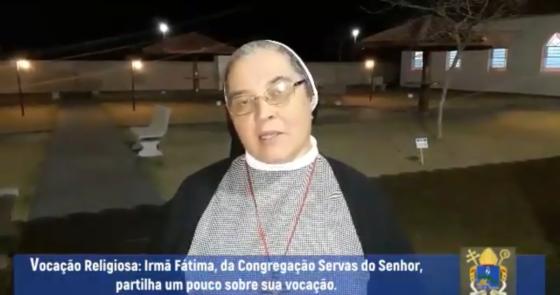 Vídeo: Vocação Religiosa - Ir. Fátima dá seu testemunho
