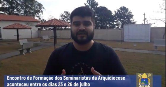 Vídeo: Seminaristas partilham experiências vividas durante formação