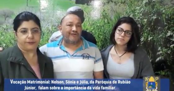 Vídeo: Mês das Vocações - Testemunho de Família