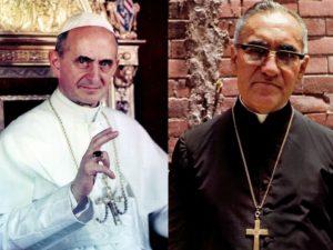 Papa Francisco canonizou seis santos no domingo.