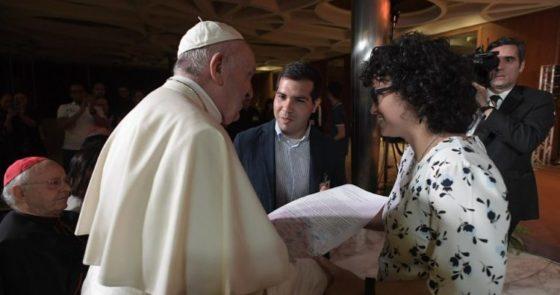 Jovens auditores ao Papa: compartilhamos seu sonho de uma Igreja em saída