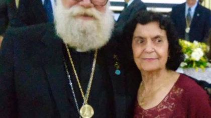 Faleceu Dona Maria Grotto de Camargo, mãe de Dom Maurício
