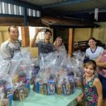 Pastoral Familiar distribuiu cestas de Natal