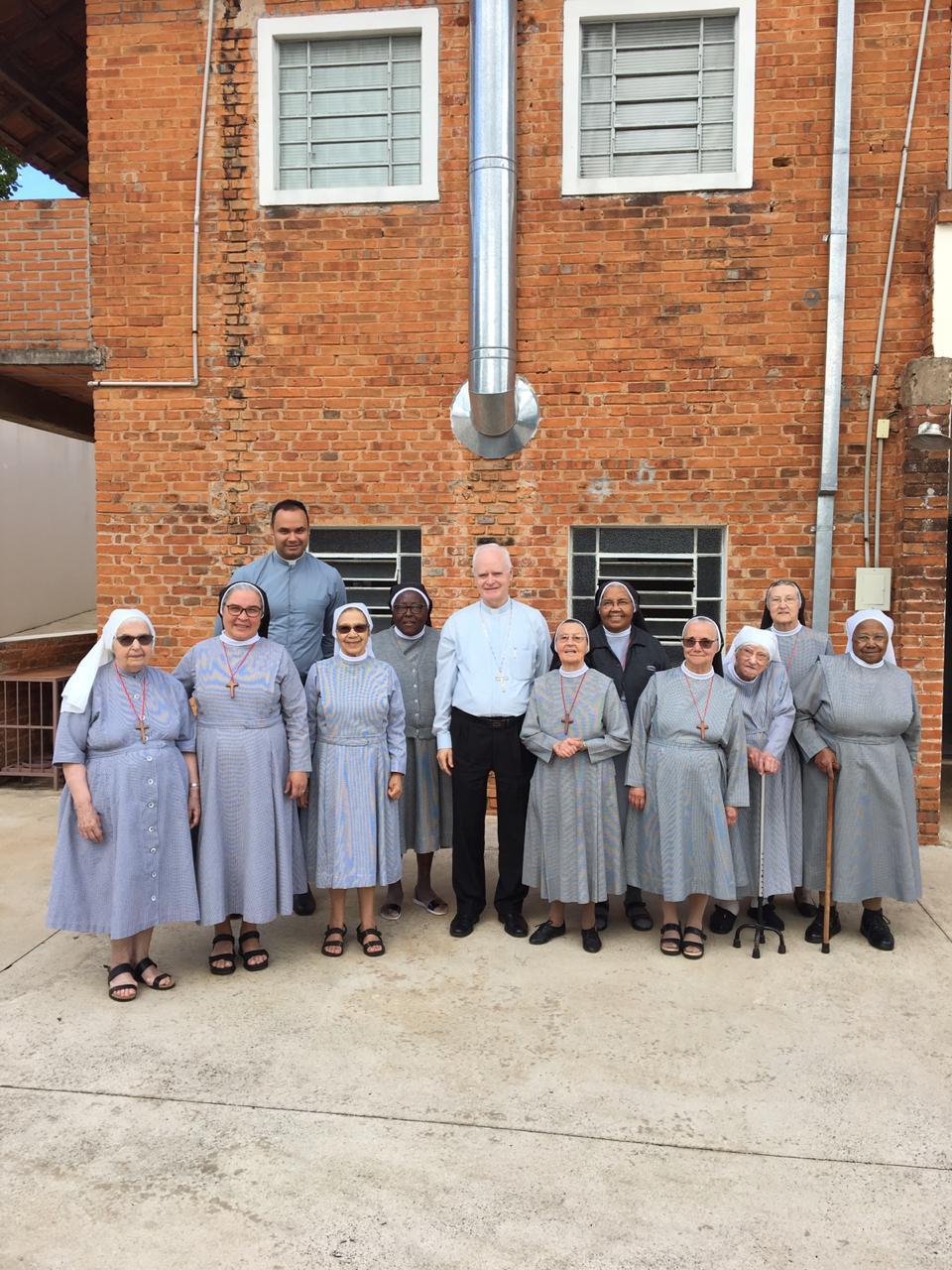 Cardeal Dom Odilo visita as Irmãs Servas do Senhor em Botucatu