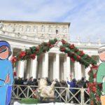 """Natal é festa em família, recorda o Papa. """"Jesus nasce para todos"""""""