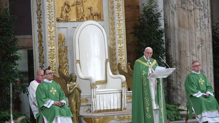 Papa pela unidade da família cristã: mais solidariedade, menos divisão