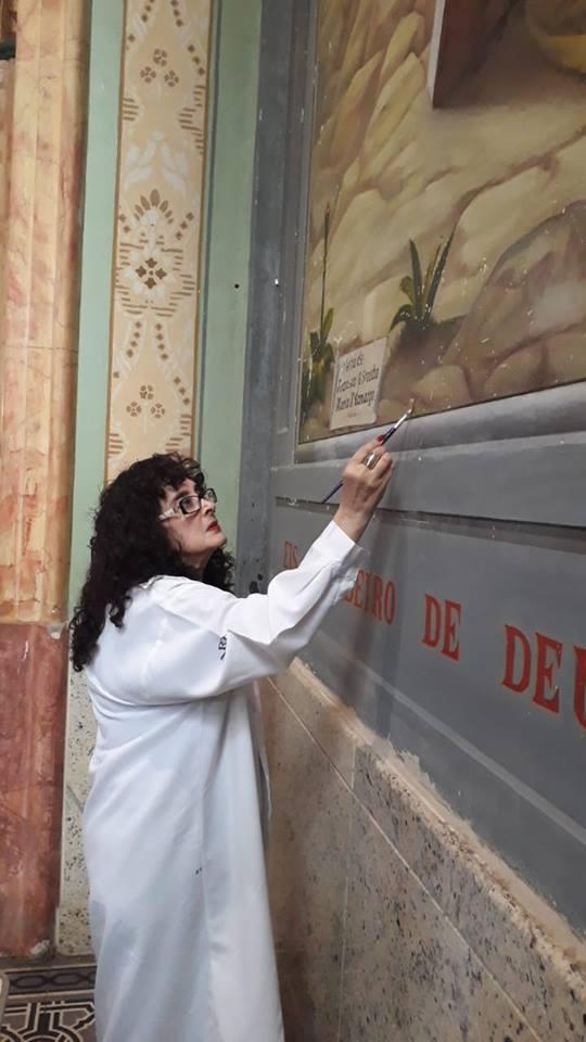 Restauração no Santuário Nossa Senhora das Dores