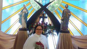 Compromissos Definitivos de Castidade, Pobreza e Obediência de Irmã Mônica Maria aconteceu em Botucatu
