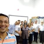 Reunião da diretoria da Cáritas de Botucatu