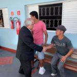 Núncio apostólico faz visita a projetos sociais em Lençóis Paulista