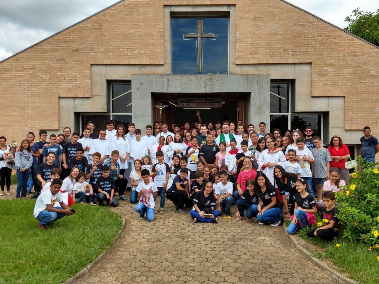 2° Encontro Regional de Coroinhas e Acólitos da RP2 aconteceu em Avaré
