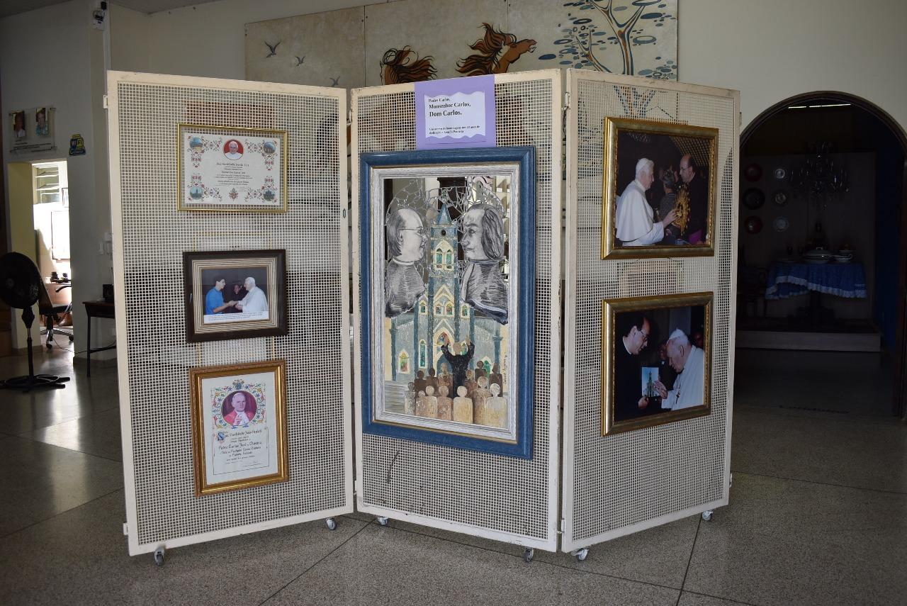 Museu organiza exposição com peças doadas por Dom Carlos José