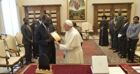 Papa manifesta desejo de visitar o Sudão do Sul