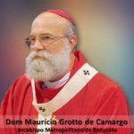 Mensagem de Páscoa do Arcebispo Dom Mauricio Grotto de Camargo.