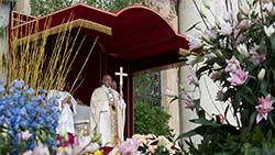 Páscoa, festa da remoção das pedras mais duras: a morte, o pecado, o medo, o mundanismo