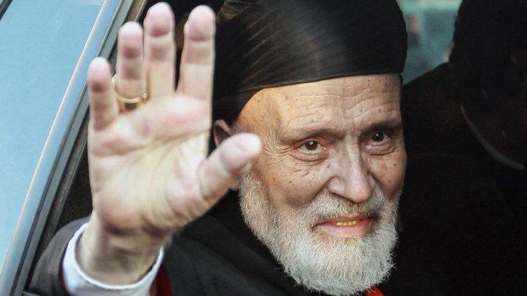 Cardeal Nasrallah Sfeir morre em Beirute