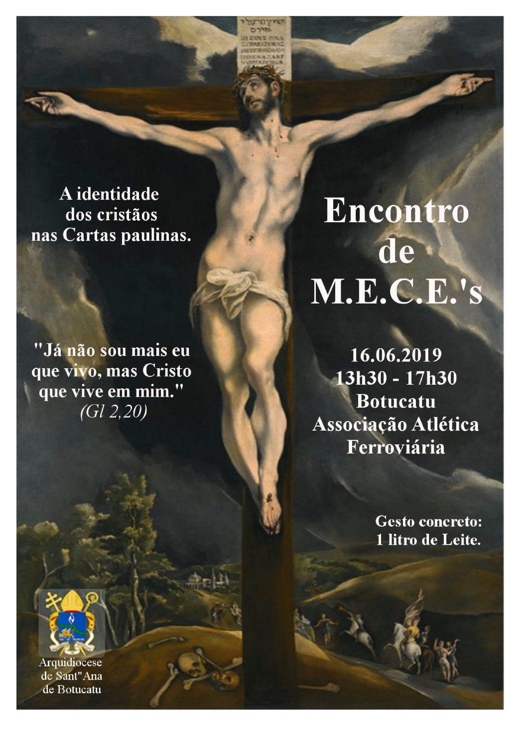 Arquidiocese realiza em junho o Encontro Arquidiocesano de MECE's