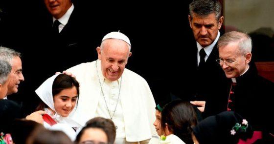 Papa: o cristianismo deve influir positivamente na vida moral pública