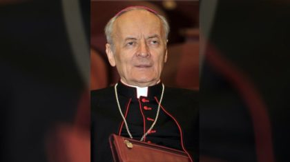 Colégio Cardinalício em luto: morre o cardeal italiano Paolo Sardi