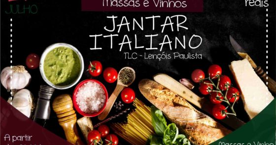 Mini TLC realizará Jantar Italiano em Lençóis Paulista
