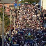 Milhares de romeiros participam da Festa de Aparecida até o próximo dia 15 de agosto.