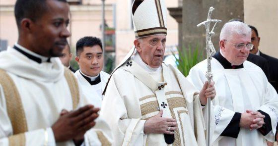 Papa Francisco em Albano: devemos voltar à simplicidade