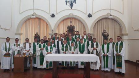 Conclusão da Atualização do Clero é marcada pelo envio missionários dos presbíteros
