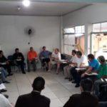 Padres da Região Pastoral de Botucatu se reuniram na Paróquia N.Sra. Menina