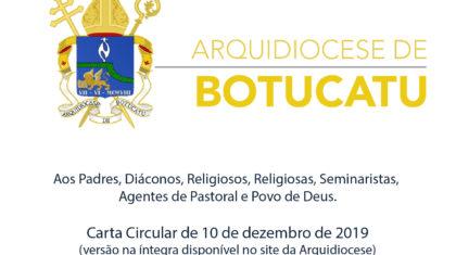 Cúria Metropolitana publica Carta Circular