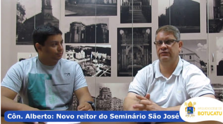 Côn. Alberto fala sobre sua nova missão como reitor do Seminário São José