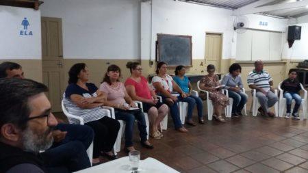 Paróquia de Pratânia se reuniu para planejamento do ano