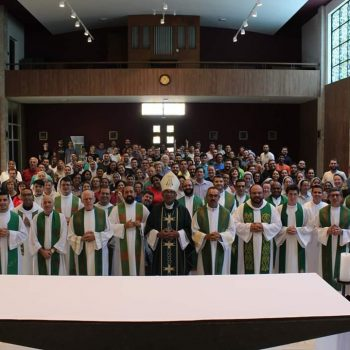 Jovens do Setor Juventude da Arquidiocese de Botucatu participaram do curso de formação em Pastoral Juvenil na Unisal em São Paulo