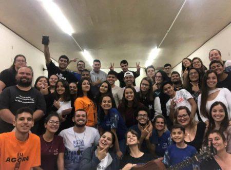 Jovens da Região Pastoral de Laranjal Paulista se reúnem