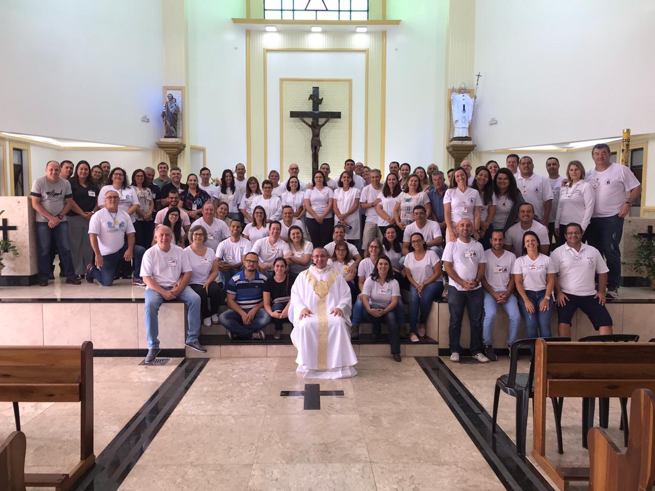Encontro do ECC é realizado na Paróquia Nossa Senhora de Fátima em Avaré.