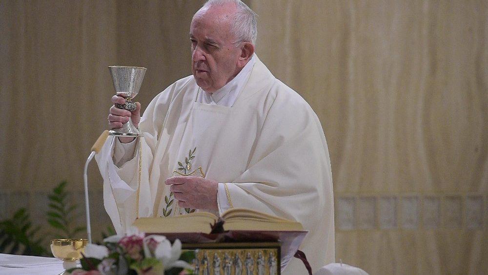 Francisco: o essencial da vida é a nossa relação com Deus