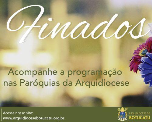 Celebração de Finados nas Paróquias da Arquidiocese