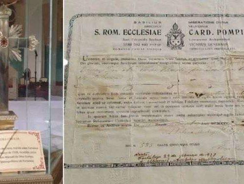 Relíquia da Cruz de Cristo encontrada na Catedral de Fortaleza será venerada na Quaresma
