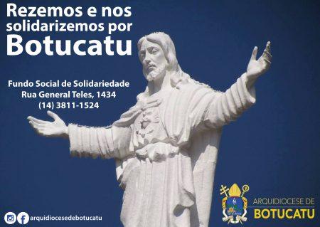 Botucatu: Doações para as famílias atingidas pela chuva podem ser feitas na Cúria e na Catedral