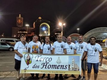 Romaria do Terço dos Homens: Centenas de fiéis da Arquidiocese participaram!