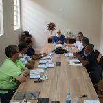 Colégio de Consultores e Conselho de Presbíteros se reúnem com Dom Maurício