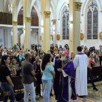 Dom Maurício presidiu Missa de Quarta-feira de Cinzas na Catedral