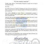 Dom Maurício Grotto de Camargo, Arcebispo Metropolitano, determina a suspensão de todas as missas presenciais