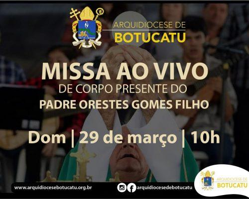 Missa de Corpo Presente do Padre Orestes