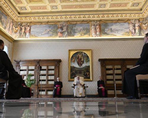Papa: a defesa da vida não é ideologia, é uma realidade humana